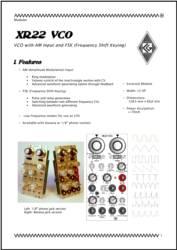 XR22 User Manual