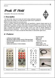 P+H PDF documentation